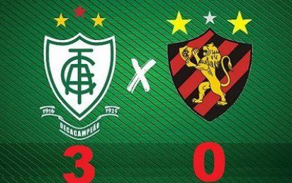 Sport é atropelado pela América-MG na estreia da série A do brasileirão