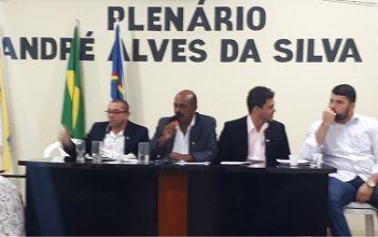 Mirandiba: Vereadores se reúnem para 7ª e 8ª Sessão Ordinária do primeiro semestre de 2018