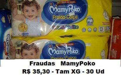 Maniçobal: Fraudas MamyPoko – Tam XG – 30 Ud – R$ 35,30