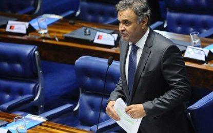 Supremo julga hoje denúncia contra Aécio Neves