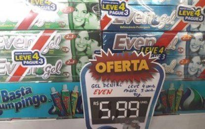 Maniçobal: Geo Dental Even – Leve 4 pague 3 – R$ 5,99