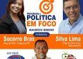Programa Política em Fogo entrevista os jornalista Silva Lima e Socorro Brás