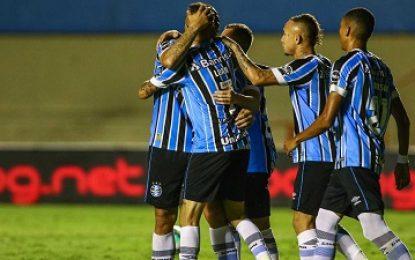 Grêmio faz 2 a 0 no Goiás e encaminha vaga na Copa do Brasil