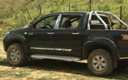 Caminhoneta é roubada em Serra Talhada, ocupantes assaltam em Belmonte e abandona o veículo em Brejo Santo-CE