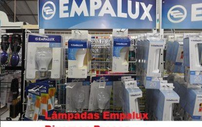 Maniçobal: Lâmpadas Empalux – Diversos Preços