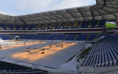 Mesmo em obras, estádio onde Brasil estreia na Copa será inaugurado