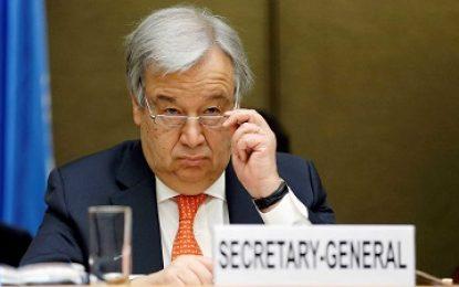 Situação na Síria está fora de controle, diz secretário da ONU