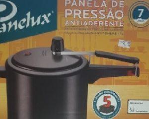Maniçobal: Panela de Pressão Panelux – 7Lt – R$ 114,00