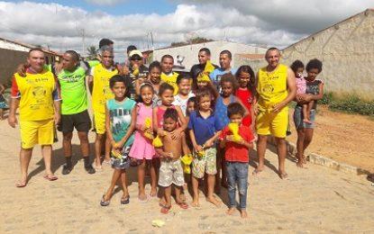 Belmonte: Peladão Esportes e Lazer comemora 10 anos realizando ações na Vila Delmiro
