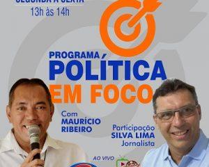 Jornalista Silva Lima, fará parte do Programa Política em foco da Salgueiro FM