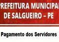 Salgueiro: Prefeitura antecipa salário dos servidores municipais para esta sexta (27)