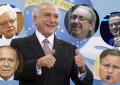 Amigos de Temer: 42 testemunham no quadrilhão do PMDB