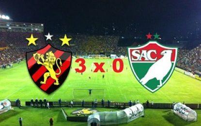 Futebol: Sport bate o Salgueiro por 3 a 0 e conquista terceiro lugar do Campeonato Pernambucano