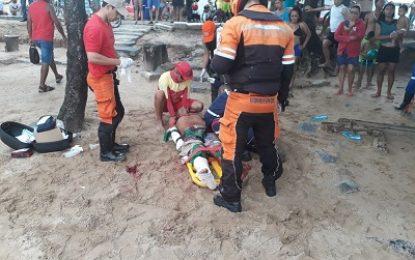 Homem é atacado por tubarão na praia de Piedade