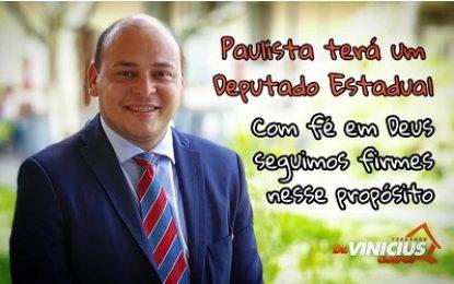 Paulista na RM do Recife poderá ter um representante na ALEPE em 2019