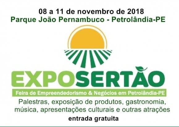 Resultado de imagem para ExpoSertão começa nesta quinta (08) em Petrolândia