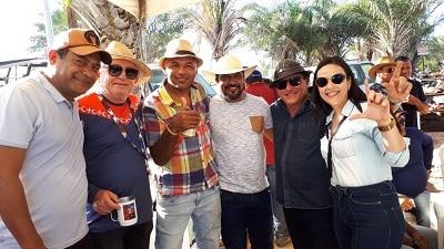 Prefeito Luciano Duque e Márcia Conrado prestigiam a festa da ...